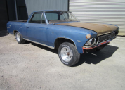 1966 CHEVROLET EL CAMINO LHD LESS MOTOR AND TRANS