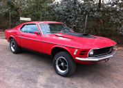 1970 FORD MUSTANG FASTBACK  /AUTO LHD