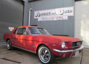 1966 FORD MUSTANG COUPE 289 AUTO LHD