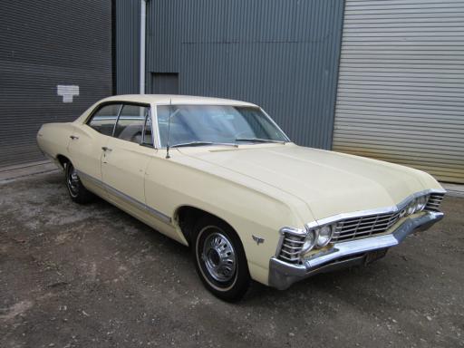 1967 chevrolet impala 4 door ht lhd supernatural. Black Bedroom Furniture Sets. Home Design Ideas
