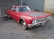 1966 CHEVROLET IMPALA 2 DOOR COUPE 327 /AUTO LHD