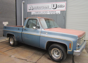 1977 CHEVROLET C10 SHORT BED FLEETSIDE 350 -T350 LHD
