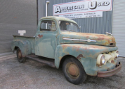 1951 FORD F1 PICKUP V8 FLATHEAD MANUAL TRANS LHD