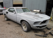 1969 FORD MUSTANG MACH 1 351 WINDSOR -AUTO LHD CLEAN PROJECT