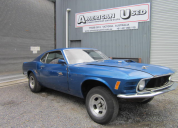 1970  FORD MUSTANG MACH 1 NO MOTOR TRANS RESTORATION PROJECT LHD