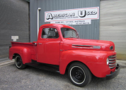 SOLD 1950 FORD F1 PICKUP TRUCK V8 FLATHEAD /MANUAL TRANS LHD