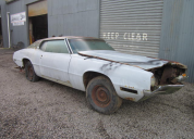 1970 FORD THUNDERBIRD RHD  429 4V PARTS CAR