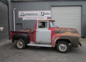 1956 FORD F100 LHD ROLLING PROJECT TRUCK NO MOTOR OR TRANS