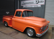 1955 CHEVROLET 3100 STEPSIDE 350 -T350 HOT ROD TRUCK LHD