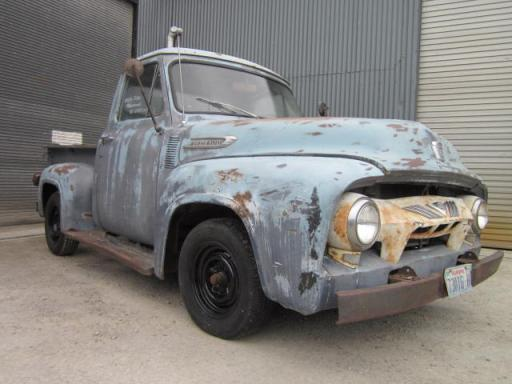 1954 FORD F100 STEPSIDE PICKUP Y BLOCK MANUAL LHD