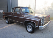 1977 CHEVROLET C10 FLEETSIDE SHORT TUB 454 /T400 LHD