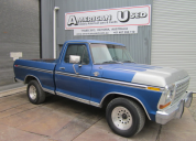 1979  FORD F100 RANGER XLT SHORT TUB FLEETSIDE 302 AUTO LHD
