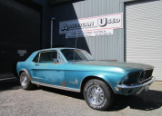 1968 FORD MUSTANG COUPE 302 4 SPEED MANUAL LHD