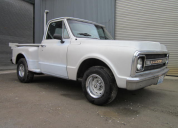 1969 CHEVROLET C10 STEPSIDE  350 4 SPEED MANUAL LHD