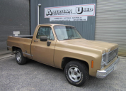 1977 CHEVROLET C10 FLEETSIDE SHORT TUB 454 / AUTO  LHD