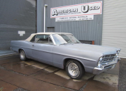 1967  FORD GALAXIE CONVERTIBLE 289 - AUTO LHD
