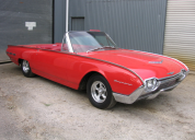 1962 FORD THUNDERBIRD CONVERTIBLE 390 /AUTO LHD