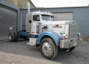 SOLD  1948 PETERBILT 400 CUMMINS 13 SPEED AIR RIDE SINGLE  DRIVE REAR LHD