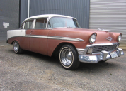 SOLD  1956 CHEVROLET BELAIR  4 DOOR SEDAN LHD