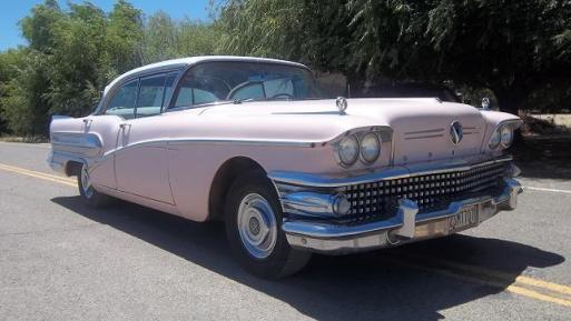 Sold 1958 Buick Century 4 Door Hard Top Lhd