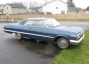 1963 CHEVROLET IMPALA 2 DOOR COUPE LHD
