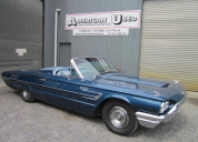 1965 FORD THUNDERBIRD CONVERTIBLE  390/AUTO LHD