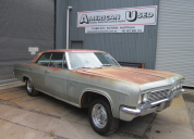 1966 CHEVROLET CAPRICE 4 DOOR HARD TOP WAS 396 AUTO LHD