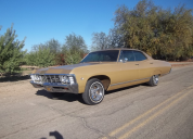 1967 CHEVROLET CAPRICE / IMPALA  4 DOOR HARD TOP  327 /AUTO LHD