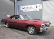 1967 CHEVROLET IMPALA 4 DOOR HT SUPER NATURAL   327 / AUTO  LHD