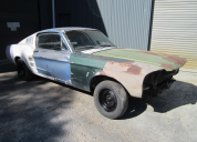 1967 FORD MUSTANG FASTBACK BUILDER PROJECT LHD
