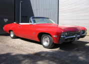 1968 CHEVROLET IMPALA CONVERTIBLE LHD