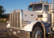 1981 PETERBILT CAT 3406 13 SPEED SINGLE DRIVE  LHD