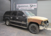 2004 CHEVROLET SUBURBAN RHD 5.3 LS1 4X4 AUTO FOR WRECKING