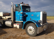 1981 PETERBILT 357 400 CUMMINS 13 SPEED SINGLE DRIVE LHD