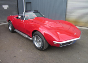 1968 CHEVROLET CORVETTE ROADSTER 427 / 4 SPEED MANUAL LHD