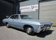 1967 CHEVROLET CAPRICE / IMPALA SPORTS SEDAN 4 DOOR HARD TOP 396 /T400 LHD SUPERNATURAL