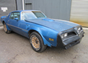 1978 PONTIAC TRANS AM SOLID ROOF 400 / AUTO LHD RUNNING PROJECT