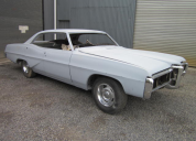 1968 PONTIAC PARISIENNE 327 AUTO RHD AUSTRALIAN DELIVERED PROJECT