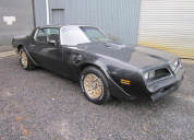 1977 PONTIAC TRANS AM 400 4 SPEED MANUAL T TOPS LHD