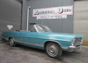1967 FORD GALAXIE XL CONVERTIBLE LHD 390 AUTO