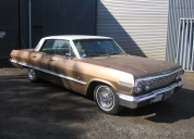 1963 CHEVROLET IMPALA 4 DOOR HARD TOP 327 /AUTO LHD