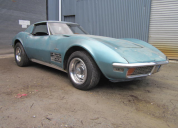 1972 CHEVROLET CORVETTE COUPE 350 4 SPEED MANUAL LHD