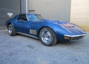 1972 CHEVROLET CORVETTE 454 4 SPEED MANUAL T TOP LHD
