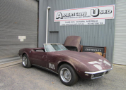 1968 CHEVROLET CORVETTE ROADSTER 327 / 4 SPEED LHD