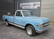 1969 CHEVROLET C10 FLEETSIDE LONG TUB 350 /AUTO LHD