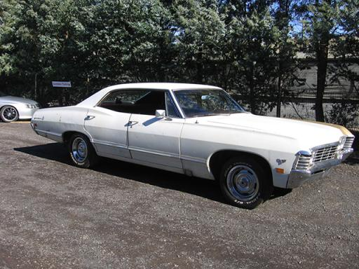 67 Chevy Impala 4 Door For Sale