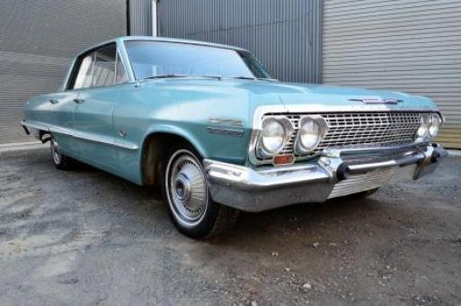 1963 chevrolet impala 4 door ht lhd