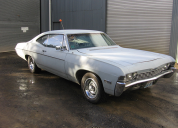 1968 CHEVROLET IMPALA FASTBACK  396 -4 SPEED LHD