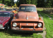 1954 FORD F100 STEPSIDE 6 CYLINDER MANUAL TRANS LHD