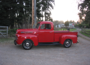 1950 FORD F1 PICKUP TRUCK V8 FLATHEAD /MANUAL TRANS LHD